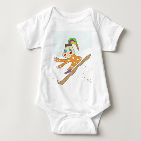 Gru character comics from cartoon animation Cril Baby Bodysuit
