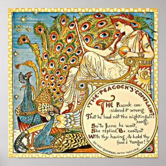 Grúa 16 de Ejemplo-Gualterio del Poster-Vintage Póster