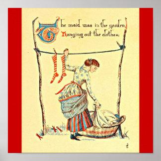 Grúa 64 de Ejemplo-Gualterio del Poster-Vintage Póster
