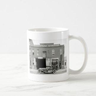 Grúa antigua, los años 20 tazas