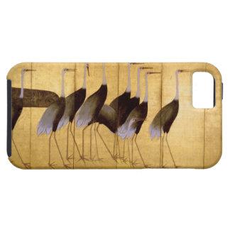 Grúa, bella arte de Ogata Kōrin iPhone 5 Case-Mate Cárcasas