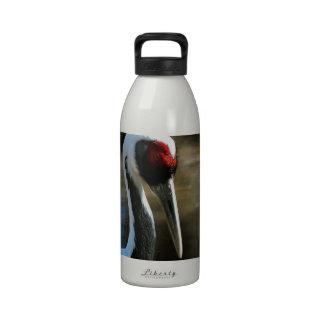 Grúa blanca de la jerarquización Naped Botellas De Agua Reutilizables