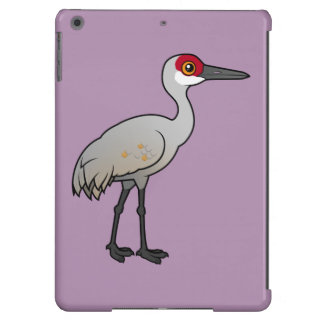 Grúa de Birdorable Sandhill Funda Para iPad Air