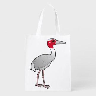 Grúa de Birdorable Sarus Bolsa Reutilizable