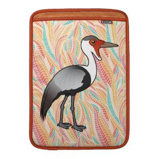Grúa de Birdorable Wattled Funda MacBook