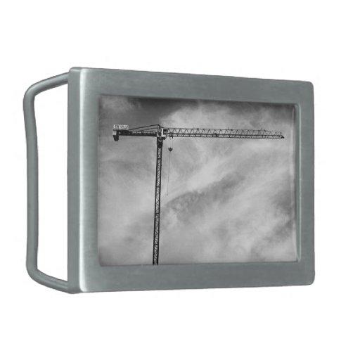 Grúa de construcción hebilla de cinturon rectangular