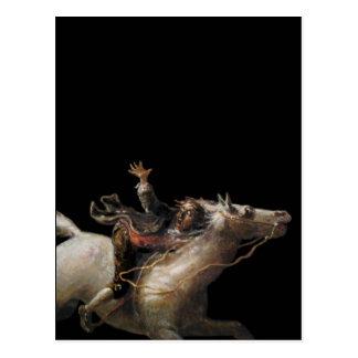 Grúa de Ichabod del hueco soñoliento Tarjeta Postal