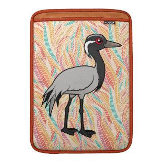 Grúa del Demoiselle de Birdorable Fundas Macbook Air