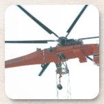 Grúa del helicóptero posavasos de bebidas