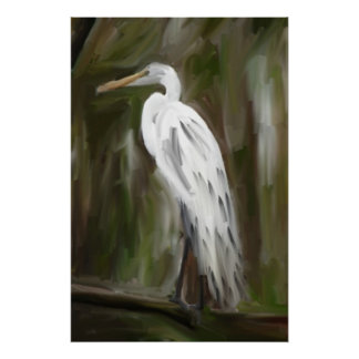 Grúa del pantano de Luisiana Poster