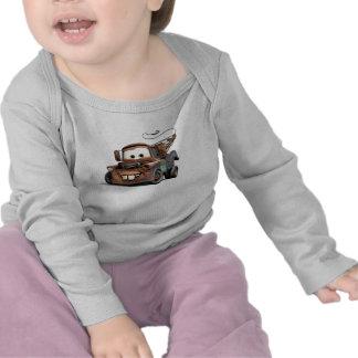 Grúa Mater Disney sonriente Camiseta