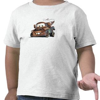 Grúa Mater Disney sonriente Camisetas