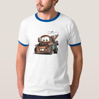 Grúa Mater Disney sonriente Playera