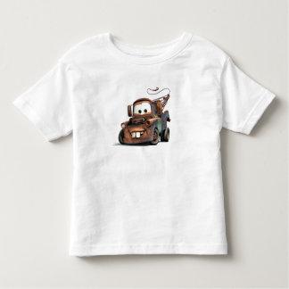 Grúa Mater Disney sonriente Playera De Bebé