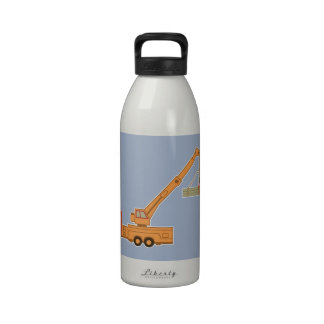 Grúa pesada del equipo del transporte botellas de agua reutilizables