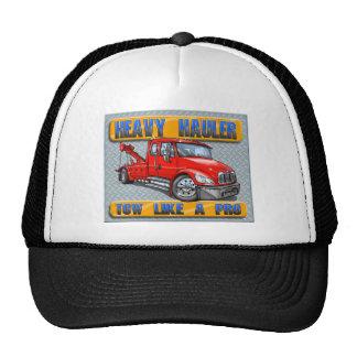 Grúa pesada del transportista gorra