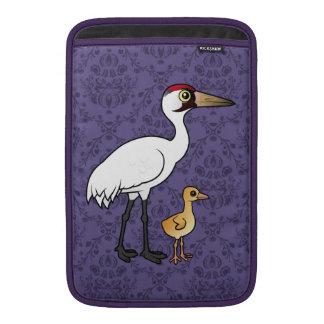 Grúa que chilla con el polluelo funda  MacBook