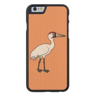 Grúa que chilla de Birdorable Funda De iPhone 6 Carved® De Arce