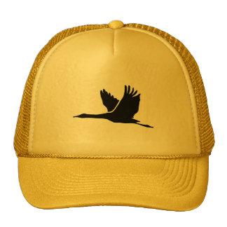 Grúa; Vuelo del pájaro; amarillo Gorro De Camionero