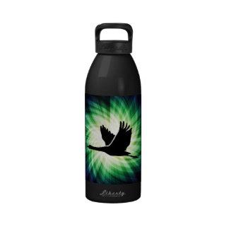 Grúa Vuelo del pájaro Fresco Botella De Agua