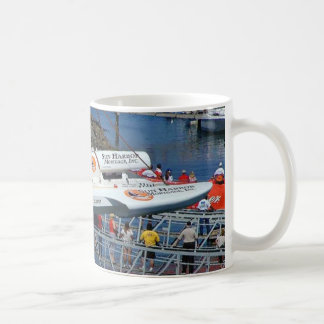 Grúas de los barcos de la velocidad taza