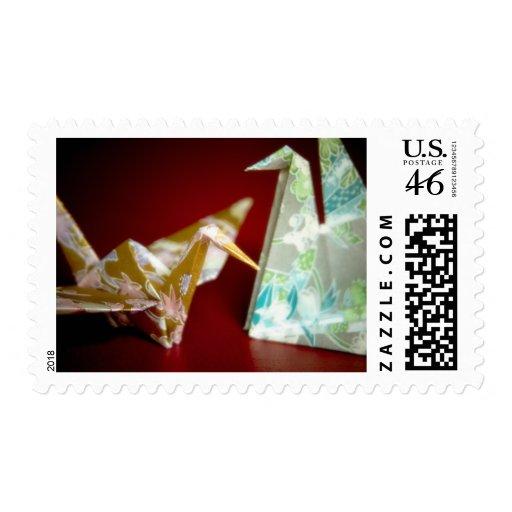 Grúas de Origami • Sello