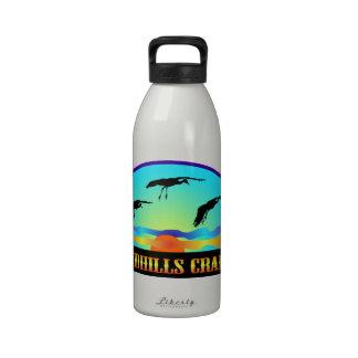 Grúas de Sandhills Botella De Agua