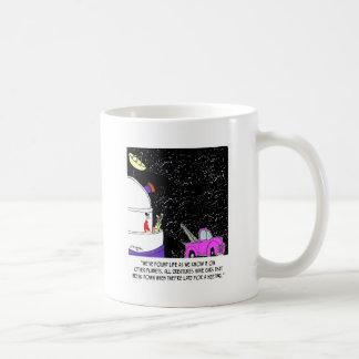 Grúas en espacio taza clásica