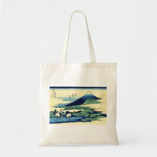 Grúas por el bolso de Hokusai Bolsa Tela Barata