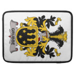 Grubbe Family Crest MacBook Pro Sleeves