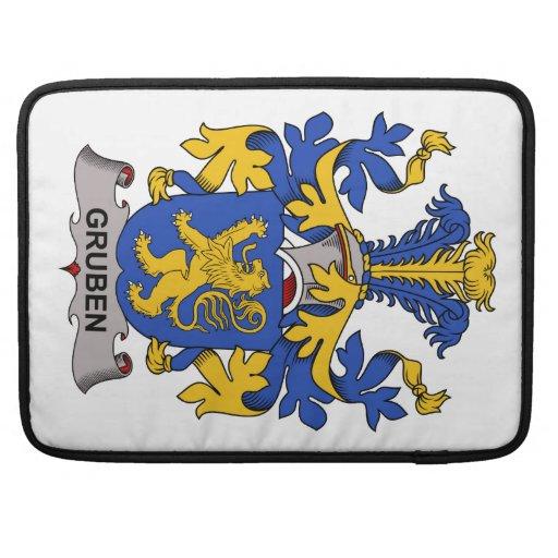 Gruben Family Crest Sleeves For MacBooks