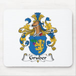 Gruber Family Crest Mouse Pads