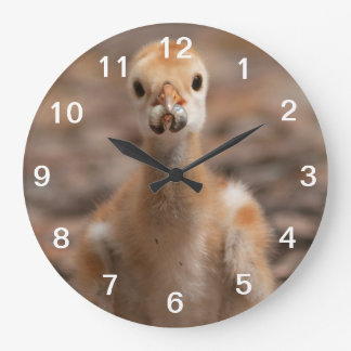 Grubs are the Best Large Clock