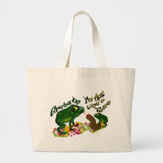 Grubs up tote bag