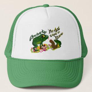 Grubs up trucker hat