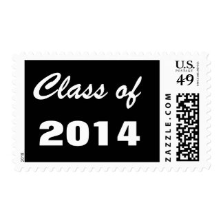 Grudation Graduating Class of 2014 Postage Stamps
