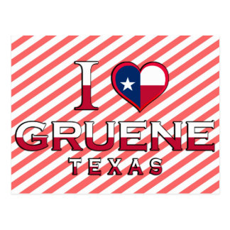 Gruene Texas Post Card