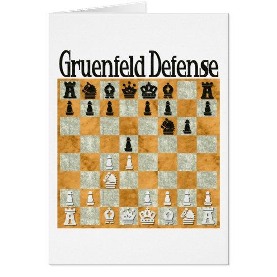 Gruenfeld Defense Card