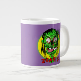 Gruesome Apocalypse Walking Dead Zombie Graphic Large Coffee Mug