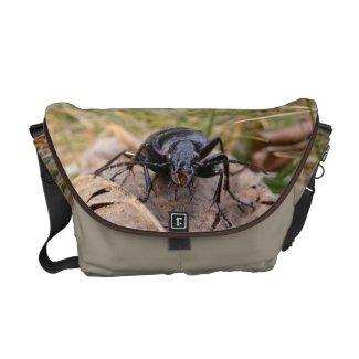 Gruesome Beetle ~ Messenger bag
