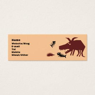 Gruff & Prickles Mini Business Card