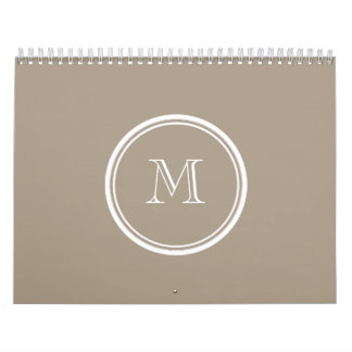 Grullo High End Colored Calendar