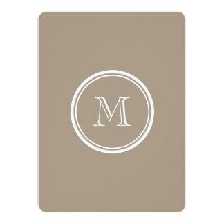 Grullo High End Colored 5.5x7.5 Paper Invitation Card