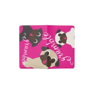 Grumble, Grumble Rainbow Pugs Moleskin Notebook