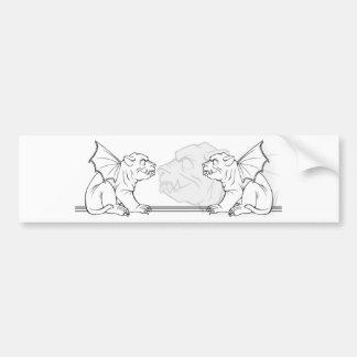 Grumbling Gargoyles Bumper Sticker