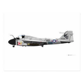 Grumman A-6E Intruder Postcard