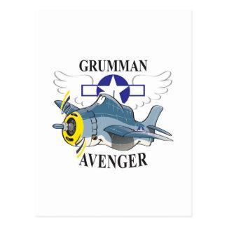 grumman avenger postcard