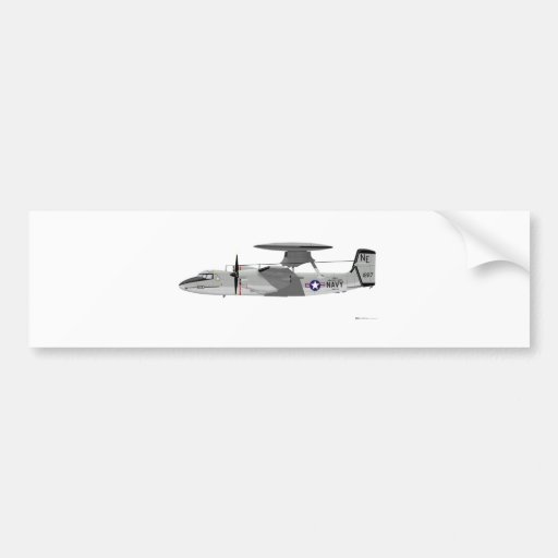 Grumman E-2C Hawkeye Pegatina Para Auto