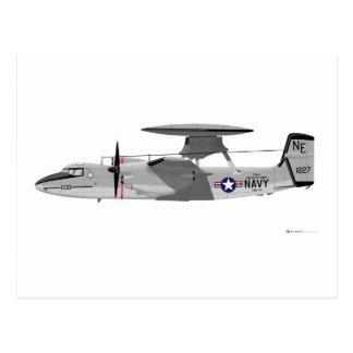 Grumman E-2C Hawkeye Postcard