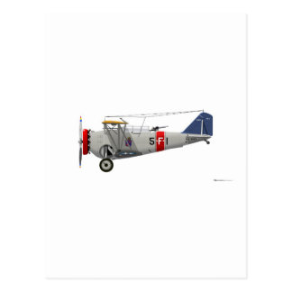 Grumman F1F-1 B363 Postcard